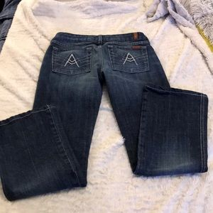 *7 for all mankind bootcut jeans